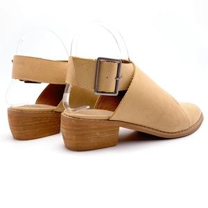 Mi.iM Shoes - Mi.iM Fran 8.5 Tan Buckle Wrap Mules Booties